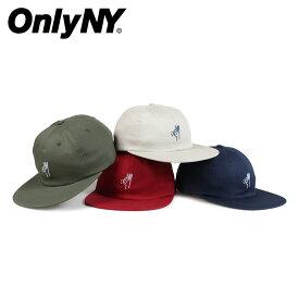 3a9ebc656b7 ONLY NY オンリーニューヨーク キャップ 帽子 メンズ レディース コットン OK POLO HAT ネイビー ベージュ レッド グリーン