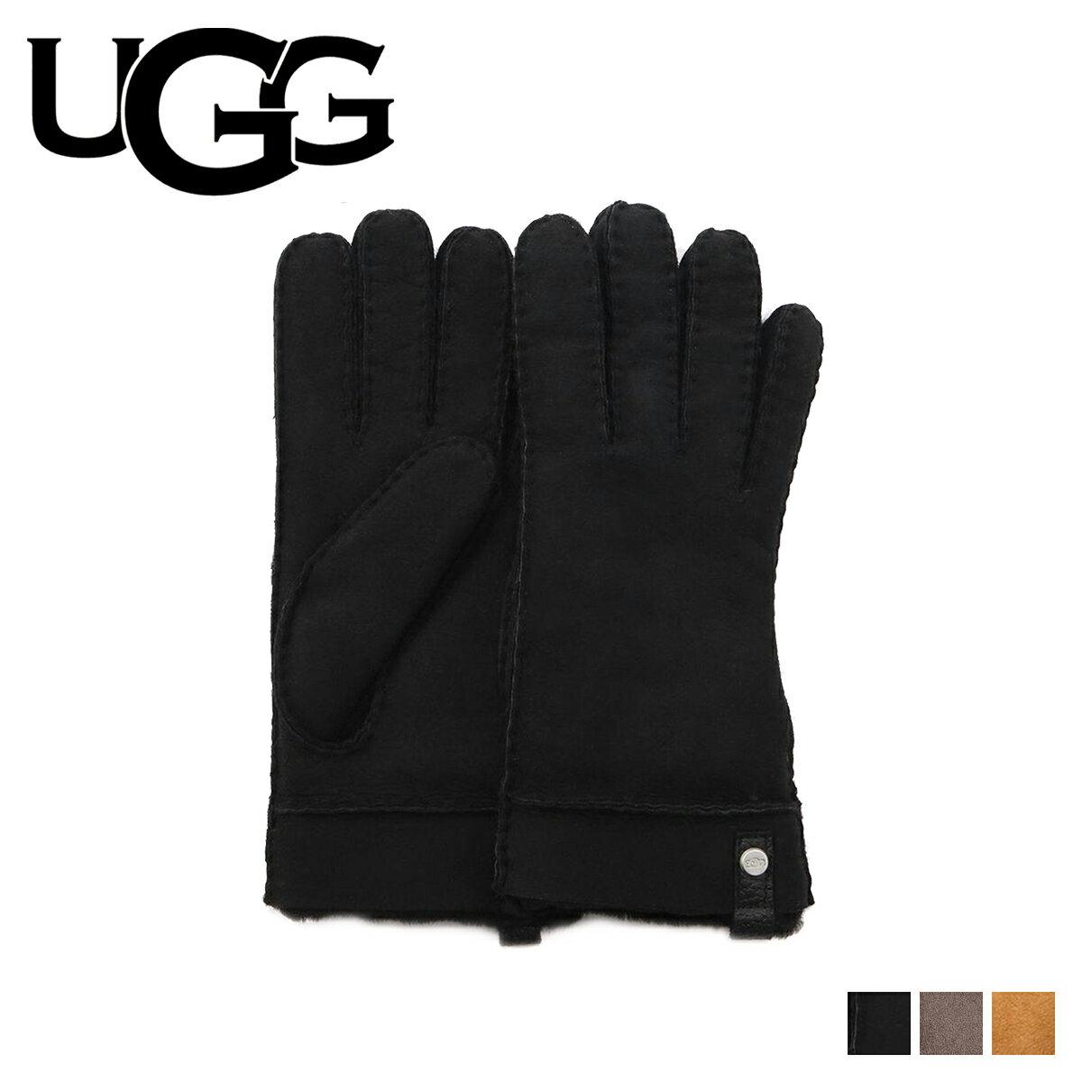 アグ UGG 手袋 グローブ レディース TENNEY GLOVE ブラック グレー ブラウン 17366BX [12/27 新入荷]