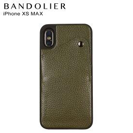 バンドリヤー BANDOLIER iPhone XS MAX ケース スマホ 携帯 アイフォン レザー ALEX GREEN メンズ レディース グリーン