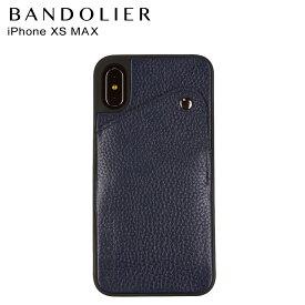 バンドリヤー BANDOLIER iPhone XS MAX ケース スマホ 携帯 アイフォン レザー ALEX NAVY メンズ レディース ネイビー