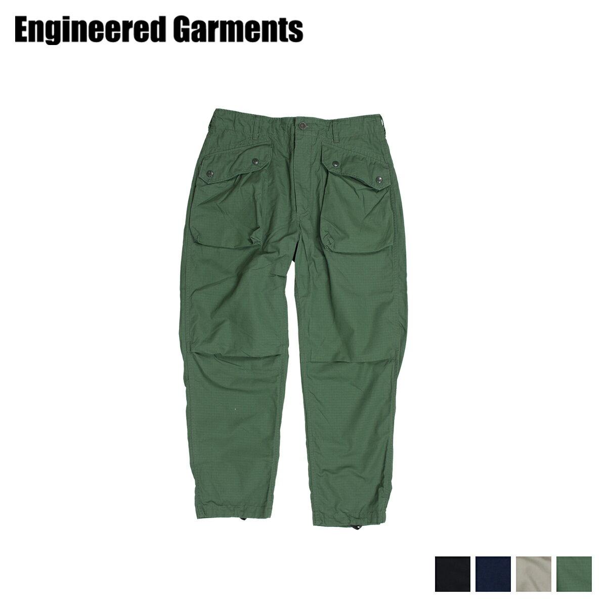 ENGINEERED GARMENTS エンジニアドガーメンツ パンツ カーゴパンツ メンズ NORWEGIAN PANT ブラック 黒 カーキ オリーブ 19SF007 [3/28 新入荷]