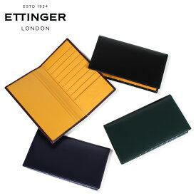 ETTINGER エッティンガー 財布 長財布 メンズ レザー COAT WALLET WITH CARD CASE ブラック ネイビー ブラウン グリーン 黒 BH806