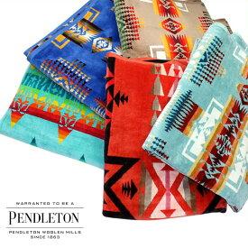 PENDLETON ペンドルトン ブランケット タオル 大判 ひざ掛け バスタオル メンズ レディース OVERSIZED JACQUARD TOWELS XB233 [10/29 追加入荷]