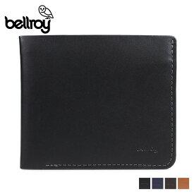 Bellroy ベルロイ 財布 二つ折り メンズ レディース レザー THE SQUARE ブラック ブラウン ネイビー 黒 WTSA