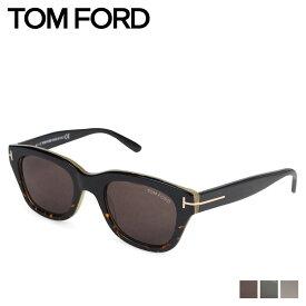 【最大600円OFFクーポン】 TOM FORD トムフォード サングラス メンズ レディース UVカット アジアンフィット ウェリントン アイウェア SNOWDON ブラック ブラウン 黒 FT0237
