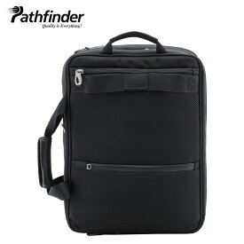 Pathfinder パスファインダー バッグ ビジネスバッグ リュック バックパック ブリーフケース メンズ 3WAY REVOLUTION XT ブラック 黒 PF6812B