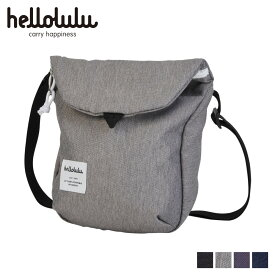 hellolulu ハロルル デシ ショルダーバッグ バッグ DESI メンズ レディース 2.5L ブラック ダーク グレー チャコール ダーク ブルー 黒 5075091