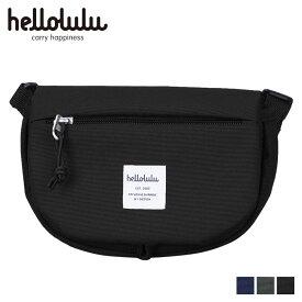 hellolulu ハロルル ショルダーバッグ バッグ エディ メンズ レディース EDDY ブラック チャコール ダーク ブルー 黒 5075118