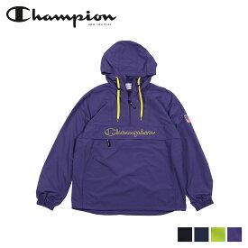Champion チャンピオン パーカー アノラック プルオーバー ジャケット メンズ レディース ANORAK PARKA ブラック ネイビー ライム ダーク パープル 黒 C3-L609