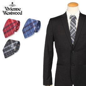 【最大2000円OFFクーポン】 Vivienne Westwood ヴィヴィアンウエストウッド ネクタイ メンズ チェック CHECK TIE 11127