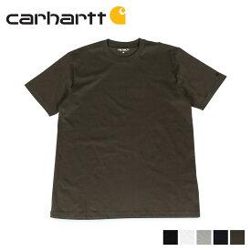carhartt WIP カーハート Tシャツ メンズ 半袖 無地 SS BASE T-SHIRT ブラック ホワイト グレー ダーク ネイビー オリーブ 黒 白 I026264