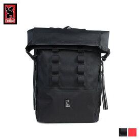 クローム CHROME リュック バッグ バックパック 28L メンズ レディース URBAN EX ROLLTOP ブラック レッド 黒 BG-218