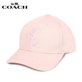COACH コーチ 帽子 キャップ レディース ピンク F68401