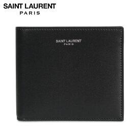 SAINT LAURENT PARIS サンローラン パリ 財布 二つ折り メンズ EAST WEST WALLET ブラック 黒 3963070U90N [12/5 新入荷]