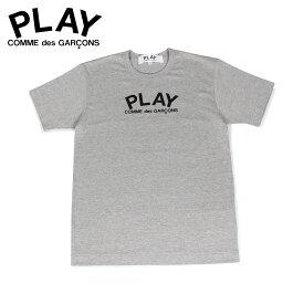 PLAY COMME des GARCONS プレイ コムデギャルソン Tシャツ 半袖 メンズ PLAY LOGO TEE グレー T0720511 [12/6]