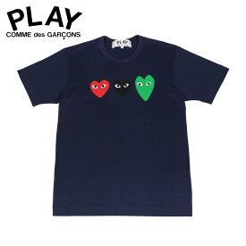 PLAY COMME des GARCONS プレイ コムデギャルソン Tシャツ 半袖 メンズ PLAY ネイビー T1860512