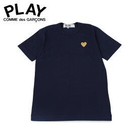 PLAY COMME des GARCONS プレイ コムデギャルソン Tシャツ 半袖 メンズ BASIC LOGO TEE ネイビー T2160512