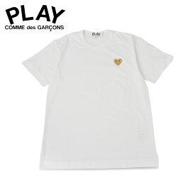PLAY COMME des GARCONS プレイ コムデギャルソン Tシャツ 半袖 メンズ BASIC LOGO TEE ホワイト 白 T2160514