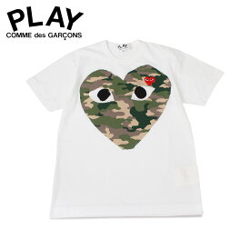 PLAY COMME des GARCONS プレイ コムデギャルソン Tシャツ 半袖 メンズ PLAY ホワイト 白 T2420511