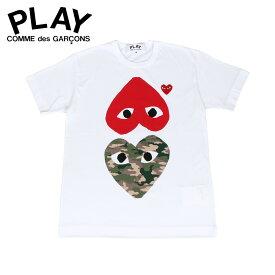 PLAY COMME des GARCONS プレイ コムデギャルソン Tシャツ 半袖 メンズ PLAY ホワイト 白 T2480511