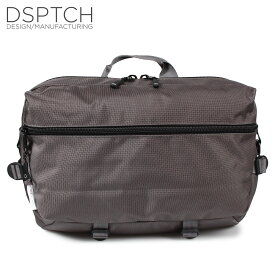DSPTCH ディスパッチ バック ショルダーバック スリングバッグ メンズ SLINGPACK グレー PCK-SP-GRY