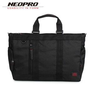NEOPRO ネオプロ トートバッグ ボストンバッグ メンズ RED ブラック 黒 2-034
