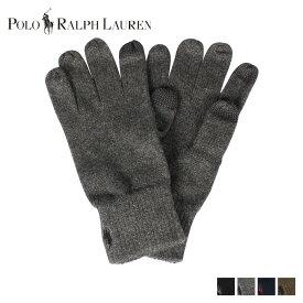 【最大1000円OFFクーポン】 POLO RALPH LAUREN ポロ ラルフローレン 手袋 グローブ メンズ GLOVES ブラック チャコール ネイビー オリーブ 黒 PC0493