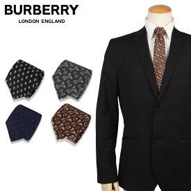 BURBERRY バーバリー ネクタイ メンズ イギリス製 シルク TIE ブランド