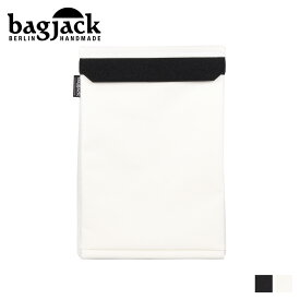バッグジャック bagjack PCケース PCバッグ パソコンケース メンズ レディース 15インチ対応 LAPTOP COVER ブラック ホワイト 黒 白 [1/22 新入荷]