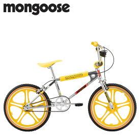 マングース Mongoose ストレンジャー シングス マックス BMX 自転車 20インチ 子供用 キッズ ストリート フリースタイル STRANGER THINGS MAX イエロー R0995WMDS