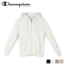 Champion チャンピオン パーカー スウェット ジップアップ レディース ZIP HOODED SWEAT SHIRT ブラック ホワイト グレー ベージュ 黒 白 CW-K109
