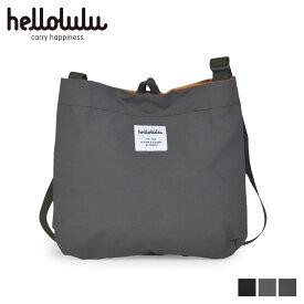 hellolulu ハロルル ショルダーバッグ バッグ メンズ レディース EILISH ブラック グレー ダスティグレー スレートグレー 黒 5075109