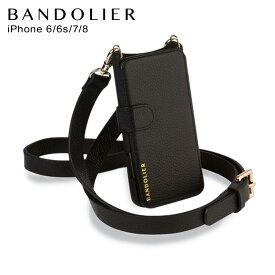 バンドリヤー BANDOLIER iPhone SE 8 7 6s 6 ケース スマホ 携帯 ヘイリー フォーリオ ゴールド メンズ レディース HAILEY FOLIO GOLD ブラック 黒 13HAI