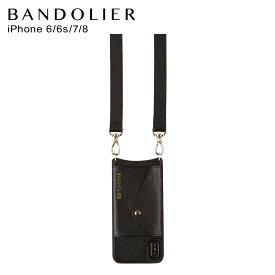 バンドリヤー BANDOLIER iPhone SE 8 7 6s 6 ケース スマホ 携帯 ヘイリー サイドスロット ゴールド メンズ レディース HAILEY SIDE SLOT GOLD ブラック 黒 14HAI