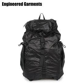 ENGINEERED GARMENTS エンジニアドガーメンツ リュック バッグ バックパック メンズ レディース UL BACKPACK ブラック 黒 20S1H020 [3/27 新入荷]