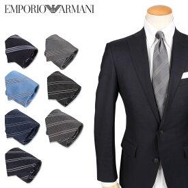 EMPORIO ARMANI エンポリオアルマーニ ネクタイ メンズ シルク イタリア製 結婚式 TIE ブランド