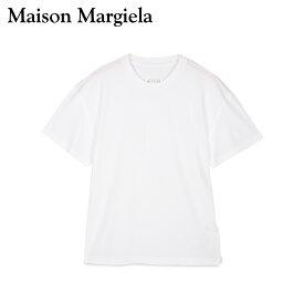 【最大1000円OFFクーポン】 MAISON MARGIELA メゾンマルジェラ Tシャツ 半袖 メンズ T SHIRT ホワイト 白 S50GC0600-100