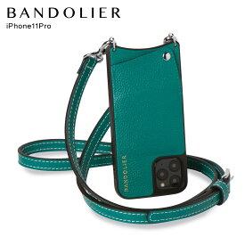 バンドリヤー BANDOLIER iPhone11 Pro ケース スマホ 携帯 ショルダー アイフォン ケイシー メンズ レディース CASEY グリーン 10CAS