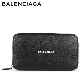 BALENCIAGA バレンシアガ 財布 長財布 メンズ レディース ラウンドファスナー ZIP AROUND WALLET ブラック 黒 594290