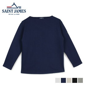 SAINT JAMES セントジェームス Tシャツ 長袖 メンズ レディース ロンT カットソー GUILDO U A ホワイト ネイビー ベージュ 白 2503 [6/1 新入荷]