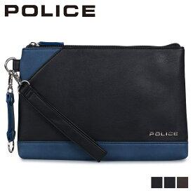 【最大1000円OFFクーポン】 POLICE ポリス バッグ クラッチバッグ セカンドバッグ メンズ URBANO CLUTCH BAG ブラック ネイビー ブラウン 黒 PA-62002