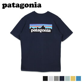 【最大1000円OFFクーポン】 patagonia パタゴニア Tシャツ 半袖 レスポンシビリティー メンズ レディース P-6 LOGO RESPONSIBILI TEE ブラック ホワイト グレー ネイビー ブルー イエロー 黒 白 38504