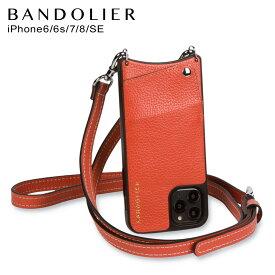 バンドリヤー BANDOLIER iPhone SE SE2 8 7 6s 6 ケース スマホ 携帯 ショルダー アイフォン ケイシー メンズ レディース レザー CASEY ORANGE オレンジ 10CAORGS