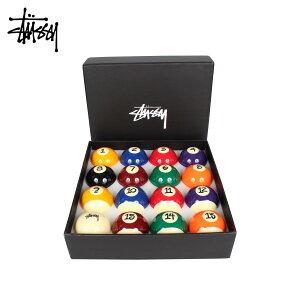 【最大600円OFFクーポン】STUSSY ステューシー ビリヤードボール セット プールボール JAPER BEES BILLIARD BALL SET