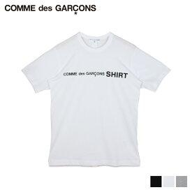 【最大600円OFFクーポン】 COMME des GARCONS コムデギャルソン Tシャツ 半袖 メンズ レディース クルーネック TSHIRT ブラック ホワイト グレー 黒 白 W28116