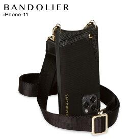 バンドリヤー BANDOLIER iPhone11 ケース スマホ 携帯 ショルダー アイフォン ボビー ネオプレン ブラック メンズ レディース BOBBY NEOPRENE BLACK 黒 10BOBLKG