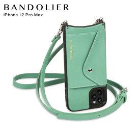 バンドリヤー BANDOLIER iPhone 12 Pro MAX ケース スマホ 携帯 ショルダー アイフォン ドナー サイド スロット ライトジェード メンズ レディース DONNA SIDE SLOT LIGHT JADE ライト グリーン 14DOLGNS
