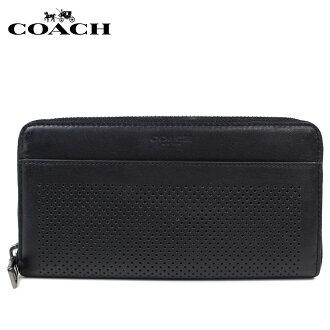 教练长钱包女士COACH钱包F58104黑色[12/10新进货]