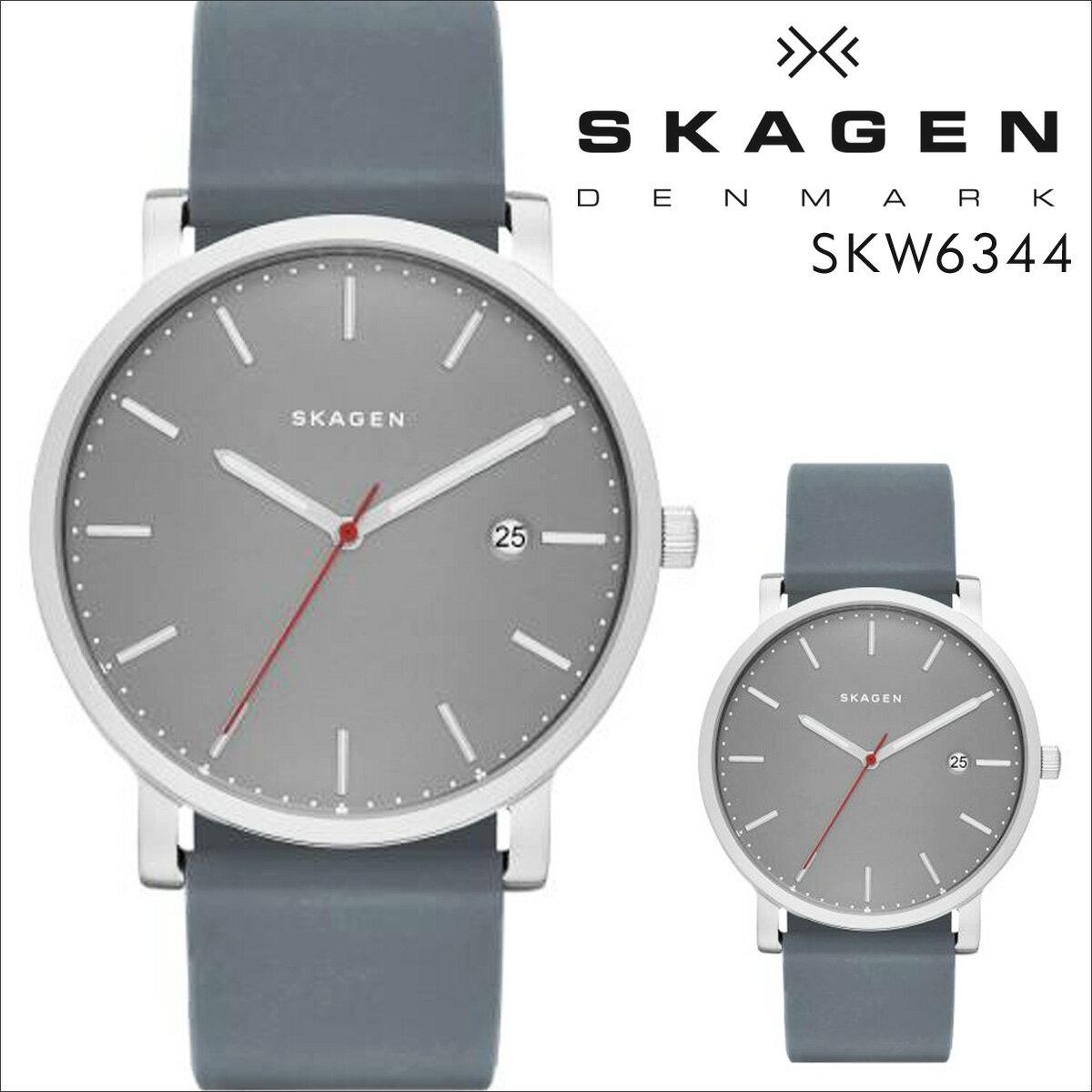 スカーゲン SKAGEN 腕時計 メンズ レディース 時計 HAGEN ハーゲン SKW6344 グレー 防水 [ あす楽対象外 ]