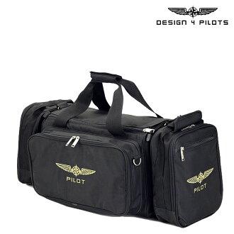设计 4 飞行员设计 4 飞行员男性飞行包袋 2 路黑色周末 [11 / 27 新股] [排除]